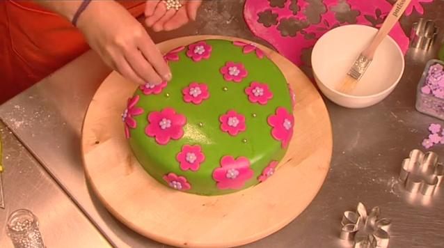 Deel 4 vormpjes van marsepein max vandaag - Hoe om te versieren haar eetkamer ...