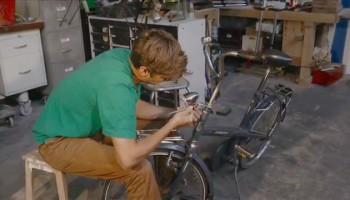 fiets repareren