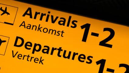 passagiersstromen Schiphol