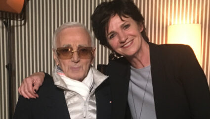 Charles Aznavour, Martine van Os
