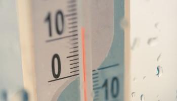 warmste kerst, temperatuur meter