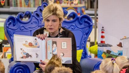 boeken, voorleesdag prinses Laurentien