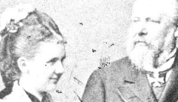 1879-01-01 00:00:00 Koning Willem III trouwde op 63-jarige leeftijd in 1879 met Emma van Waldeck Pyrmont Zij schonk hem op 31 augustus 1880 een dochter./Willem III en Emma.