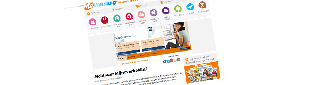 Meldpunt MijnOverheid.nl