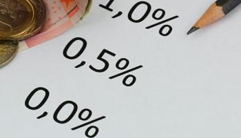 0 procent spaarrente
