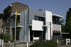 Het Schröderhuis van Rietveld