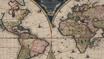 wereldkaar van Blaeu