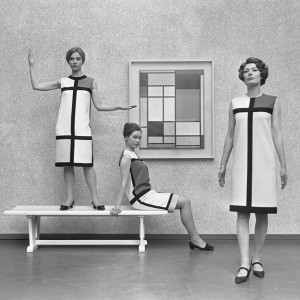 Mondriaanjurken van Yves Saint Laurent