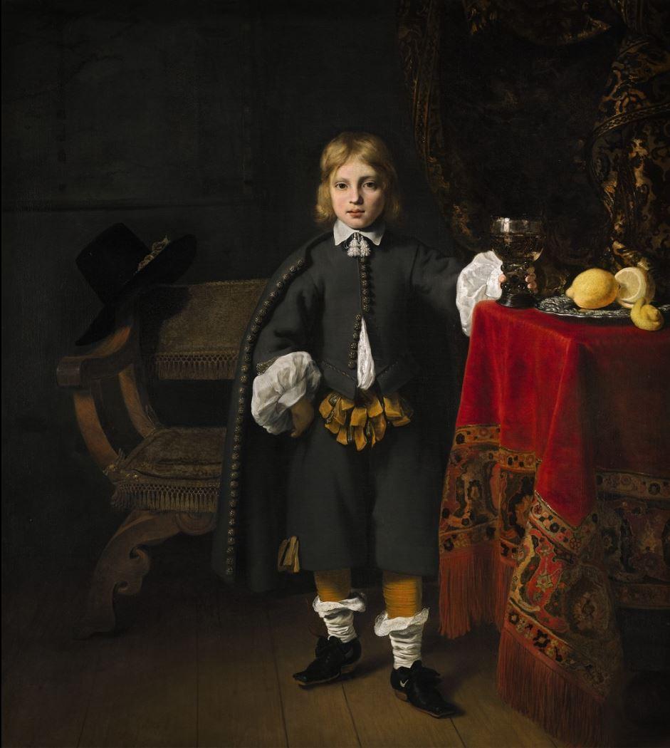 Portret van een 8-jarige jongen