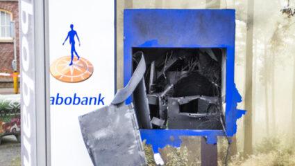 Plofkraak Rabobank