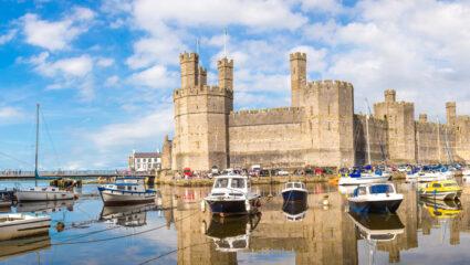 we zijn er bijna, Caernarfon Castle