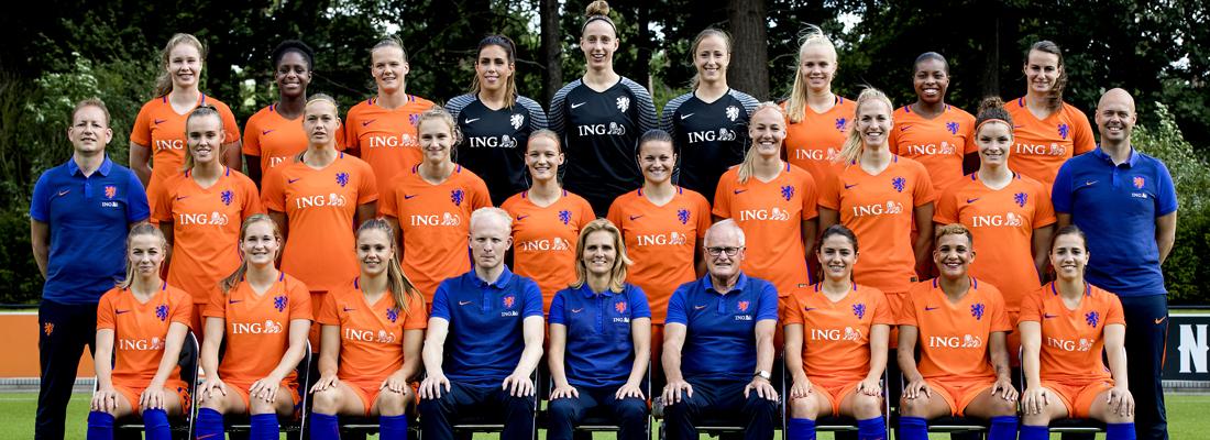 Training Nederlands vrouwenelftal