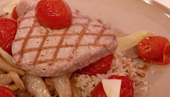 witlof met tonijnsteak