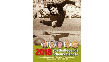 Voetballegends scheurkalender 2018