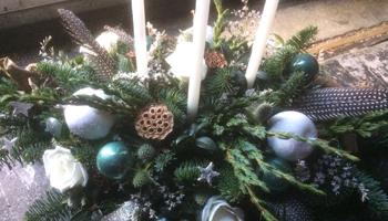 kerststukken maken