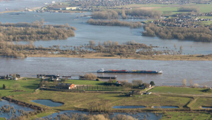 hoogwaterpiek