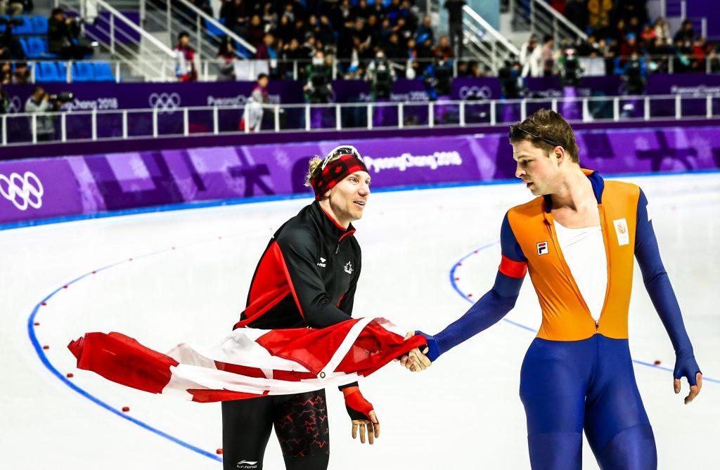 OS: 10 kilometer schaatsen