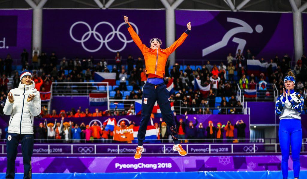 S: Schaatsen 5000 meter vrouwen