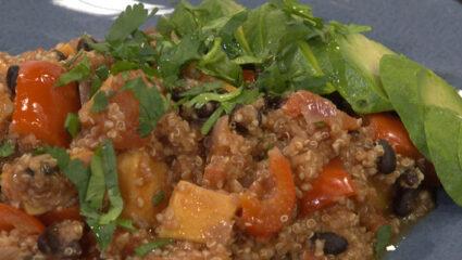 Chili met quinoa