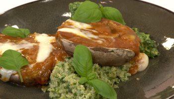 quinoa met boerenkoolpesto