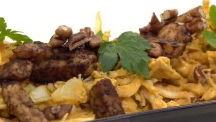 Witte kool-aardappelsalade