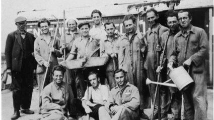 De keuken van kamp Westerbork