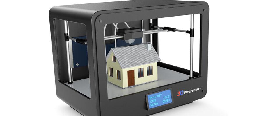huis uit 3d printer