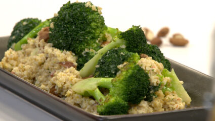 Broccolisalade met artisjok