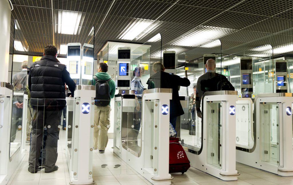 automatische paspoortcontrole