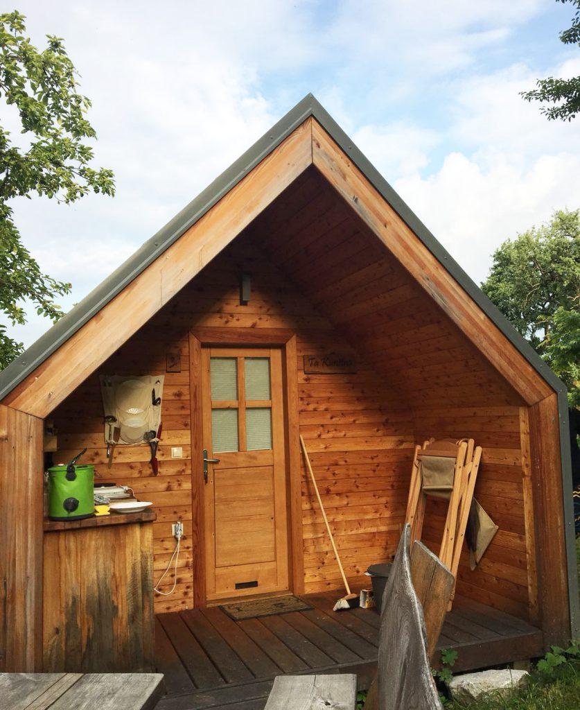 de hut in Slovenië
