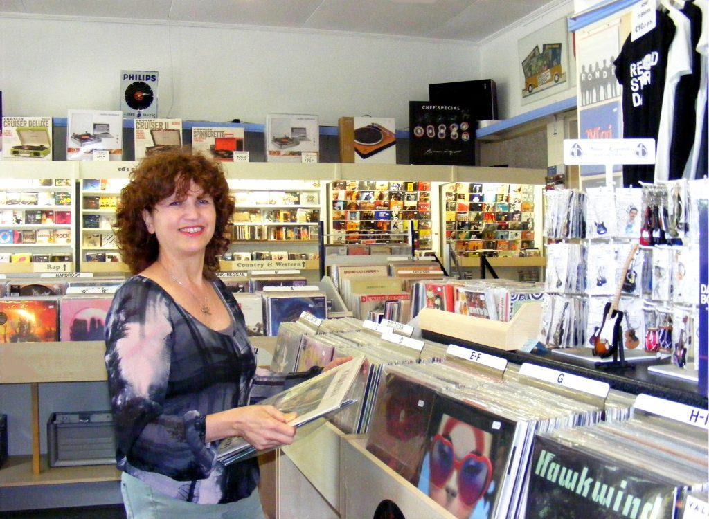 Marjolein in de winkel