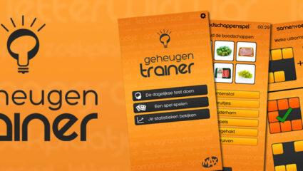 MAX Geheugentrainer app