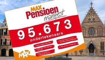 MAX pensioen manifest