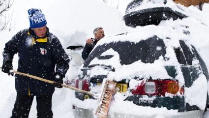 wintersportverkeer