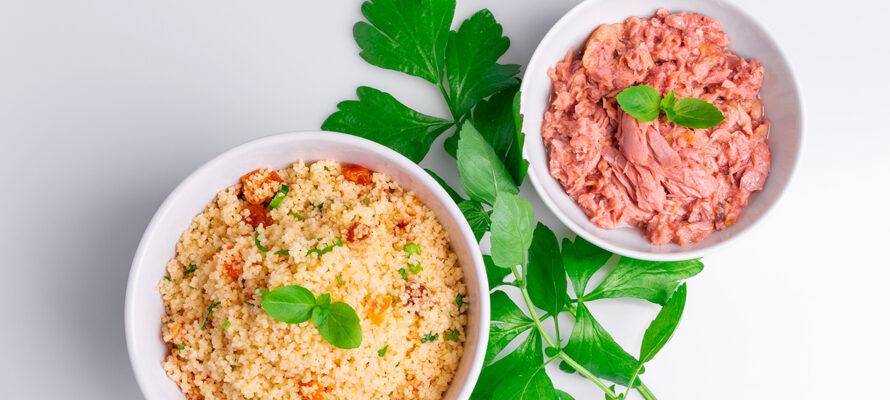 Couscous tonijn