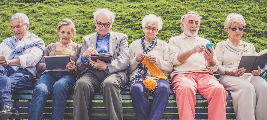 ouder en trager