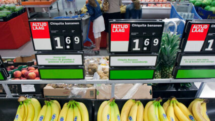 prijzen supermarkten