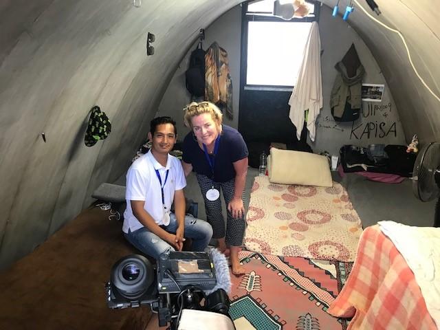 elles met afghaanse journalist