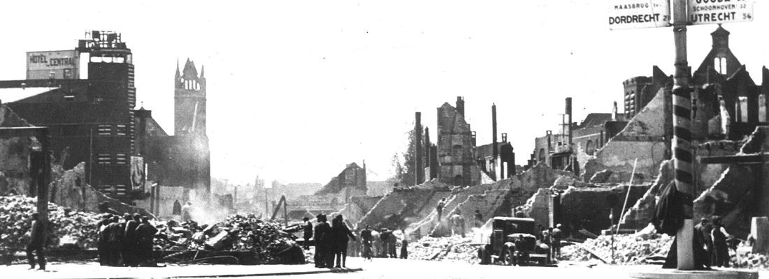 herdenking bombardement Rotterdam