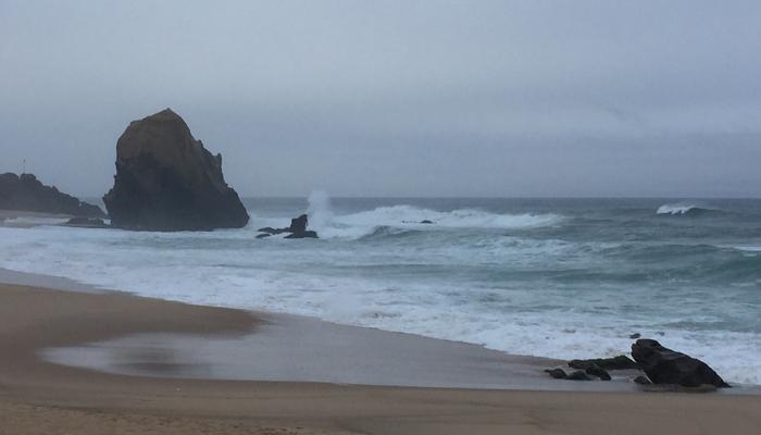 Praia de Santa Cruz (© Marieke de Ruijter)