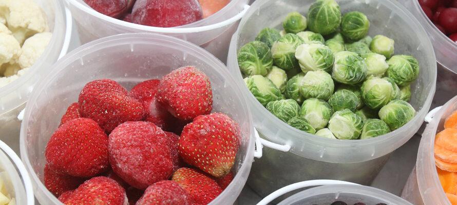 bevroren groenten en fruit