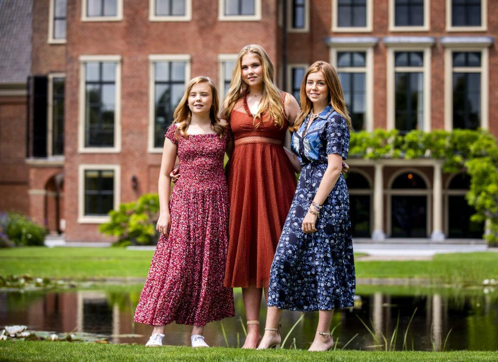 Fotoshoot 2018 van de jaarlijkse Nederlandse Koninklijke Familie Koningin.
