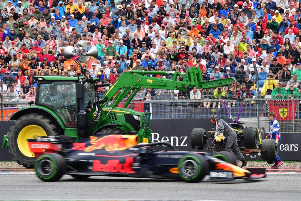 crash Nico Hülkenberg