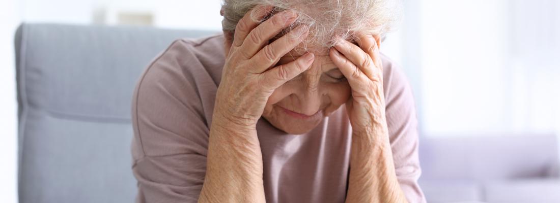 ouderen hebben stress