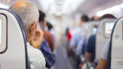 gedragsregels vliegtuig