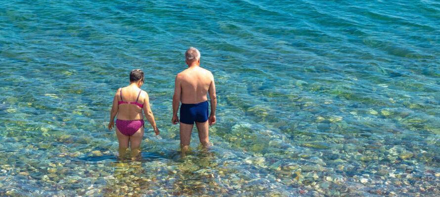zwemmen in natuurwater