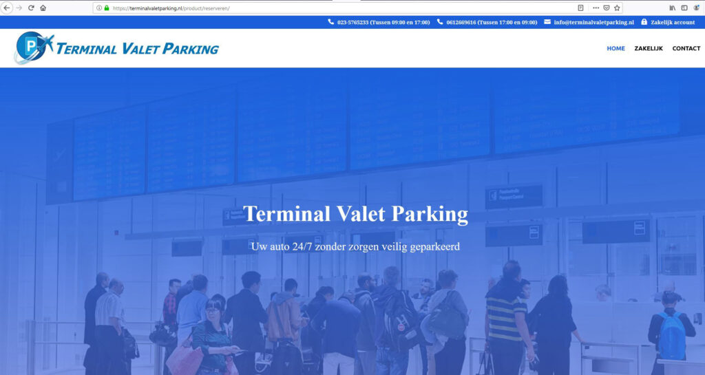 Terminal Valet Parking - home