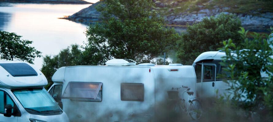 kampeerplekken campers