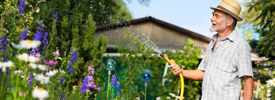 Wie tuiniert woont mogelijk langer thuis