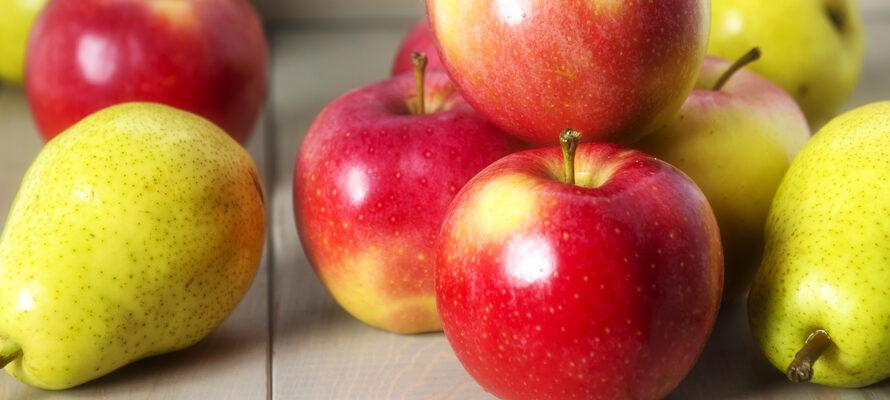 peer- en appelfrietjes